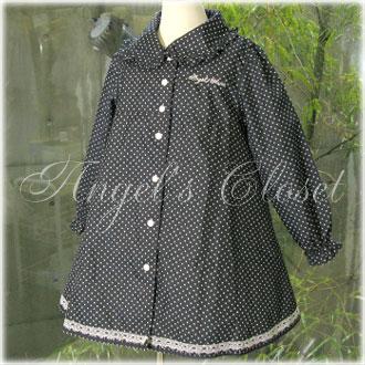 ACオリジナル水玉レインコート/子供ドレスのAngel'sCloset