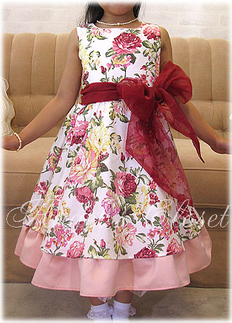 着物ドレス(AC09)2WAY4点セット(上着・ワンピース・帯・付け帯)