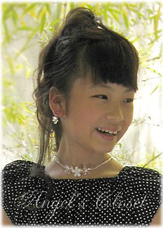 クリスタルブーケ(2点セット)/子供ドレスのAngel'sCloset