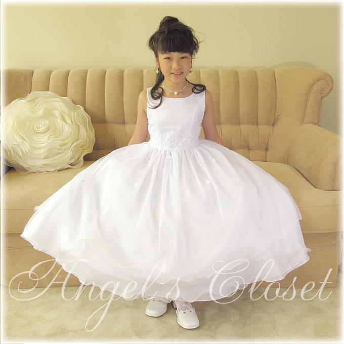 パールスクエア・プチネックレス(2点セット)/子供ドレスのAngel'sCloset
