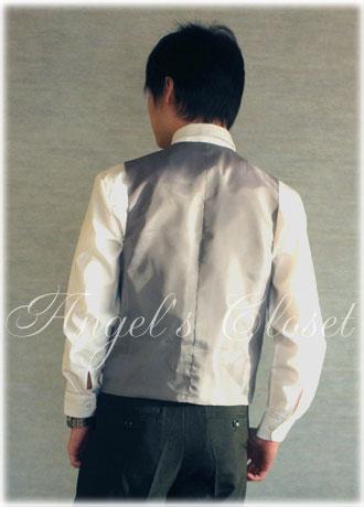 ACオリジナルフォーマルベスト3点セット(ネクタイ・チーフ付)/子供スーツのAngel'sCloset