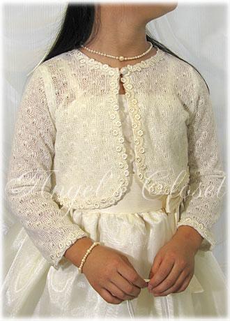 子供ドレス用ニットボレロ/子供ドレスのAngel'sCloset