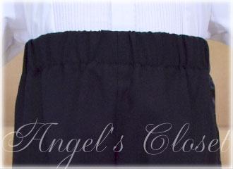ベビーダブルタキシード4点セット(スタンドカラーシャツ)CC4002B(60cm〜90cm)/子供ドレスのAngel'sCloset