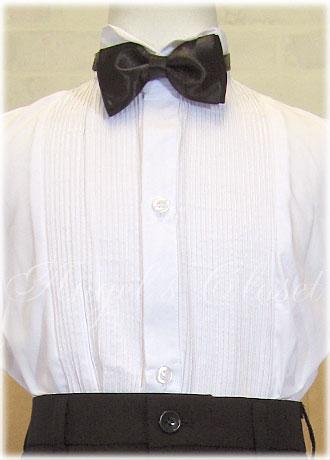 子供ダブルタキシード4点セット(スタンドカラーシャツ)CC4002T(95cm〜150cm)/子供ドレスのAngel'sCloset