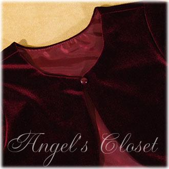 子供ドレス用ベルベットボレロCK825/子供ドレスのAngel'sCloset
