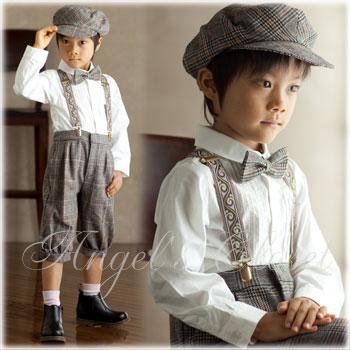 結婚式子供タキシードスーツ・リングボーイ用