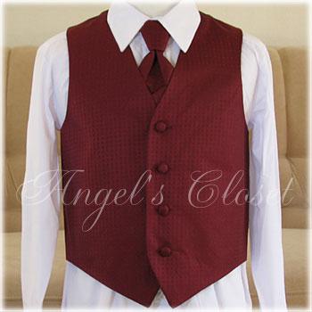 タイ&ベストセットKDVE001全2色/子供ドレスのAngel'sCloset