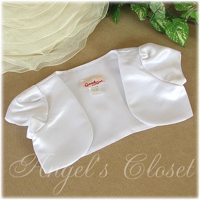 サテンボレロ(GGL)J106/子供ドレスのAngel'sCloset