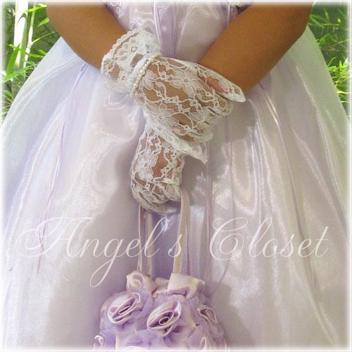 レースグローブ/子供ドレスのAngel'sCloset