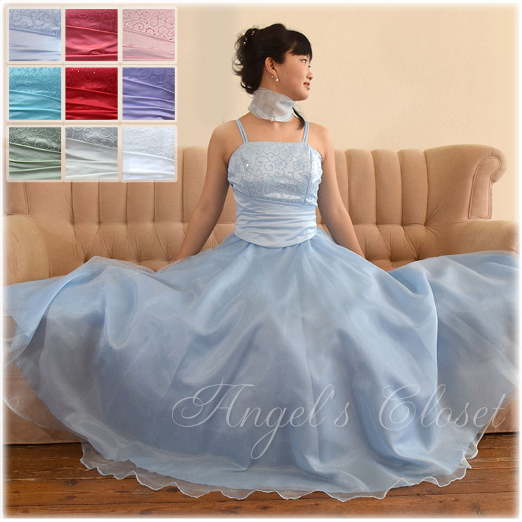 美しいフレアースカートドレス/子供ドレスのAngel'sCloset