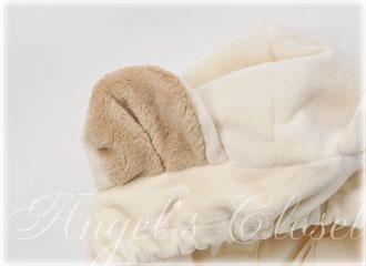 クマの2wayオーガニックジャンプスーツ(ギフトボックス入り)/子供スーツのAngel'sCloset