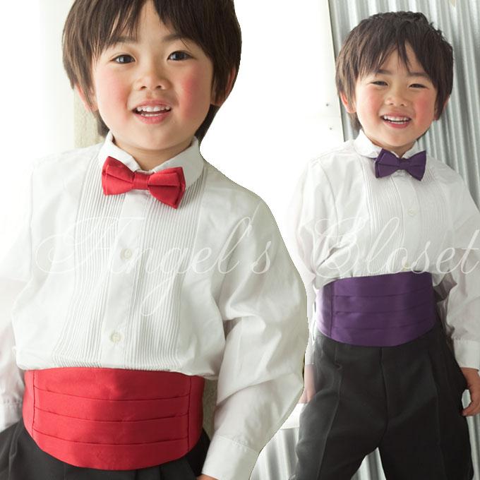 蝶タイ&カマベルトセット/子供ドレスのAngel'sCloset