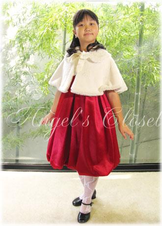 スパンコール&バルーンドレスKD28/子供ドレスのAngel'sCloset