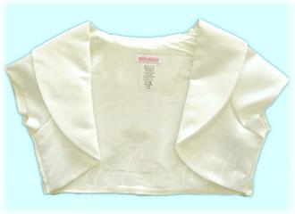 ショールカラーサテンボレロ(KD299)/子供スーツのAngel'sCloset
