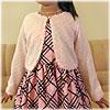 ニットボレロCK826/子供ドレスのAngel'sCloset