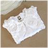 エレガントローズモチーフサテンボレロ(KK5219)/子供ドレスのAngel'scloset