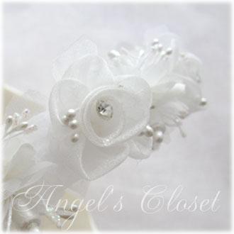 フラワーティアラMO/子供ドレスのAngel'scloset