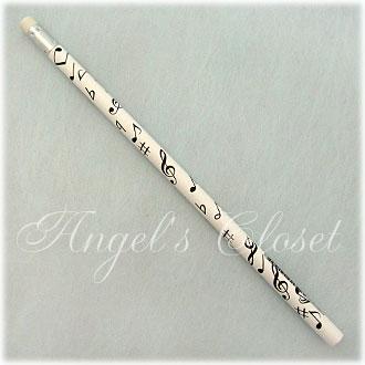 音楽鉛筆(消しゴム付き音符柄えんぴつ)/Angel'sCloset