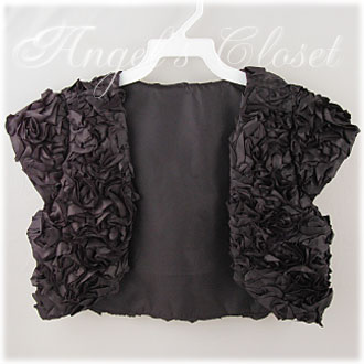リボン刺繍ボレロ/子供ドレスのAngel'sCloset