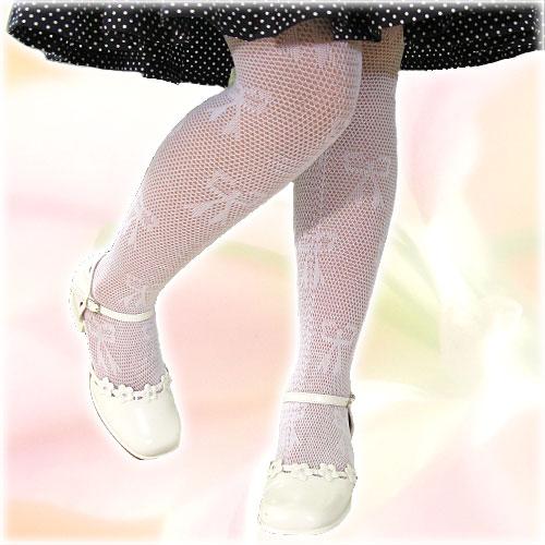 タイツ(リボン柄)/子供ドレスのAngel'sCloset