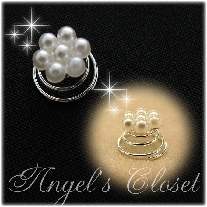 パールヘアポイント12個セット/子供ドレスのAngel'scloset