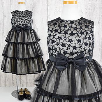 子供ドレス ブラックドレス